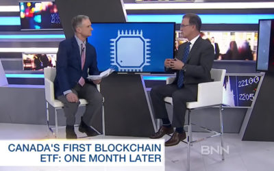 Canada's first blockchain ETF: One month after launch