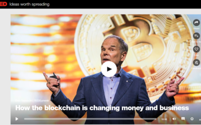 Don Tapscott on how the blockchain is changing money and business (Ted Talks)