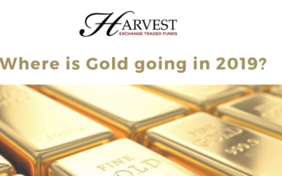 Where is gold going in 2019?
