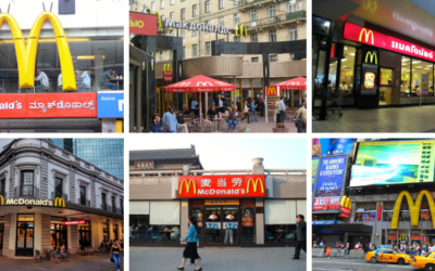 McDonald's is a global brand aristocrat