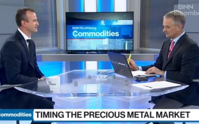 There's just enough investor nervousness to get into gold: ETF manager