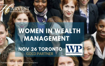 Harvest, Gold Sponsor of the Wealth Professional Women in Wealth Management