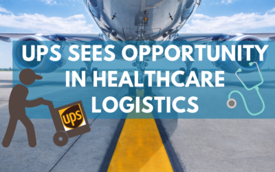 UPS sees opportunity in healthcare logistics