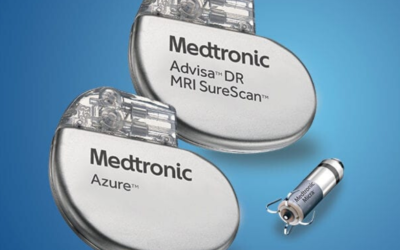 Medtronic pacemaker gives a sales boost