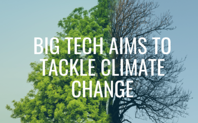Big tech aims to tackle climate change
