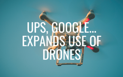 UPS, Google expand use of drones