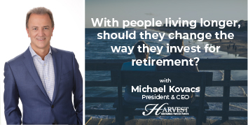 With people living longer, should they change the way they invest for retirement?
