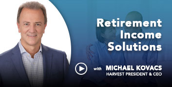 Harvest CEO discusses retirement income solutions