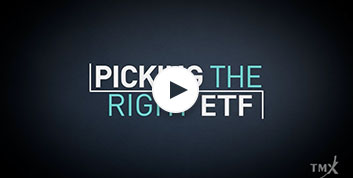 ETF 101 – Picking the Right ETF
