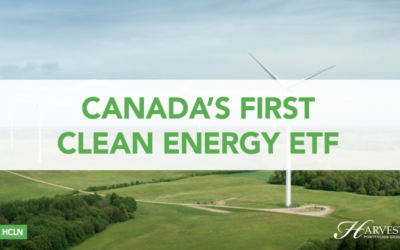 HCLN – Canada's First Clean Energy ETF