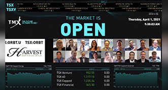 Harvest virtually opens the Market for the Harvest Space Innovation Index ETF